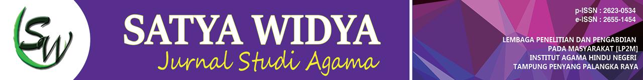 Jurnal Satya Widya